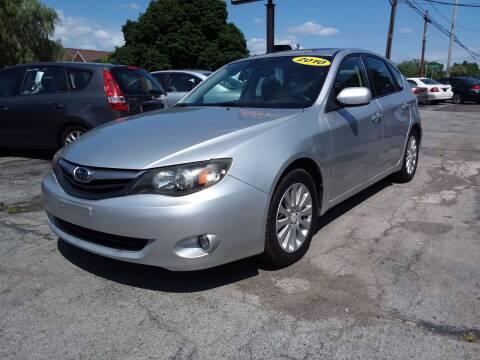 2010 Subaru Impreza for sale at Peter Kay Auto Sales in Alden NY