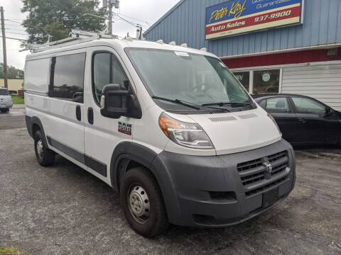 2015 RAM ProMaster Cargo for sale at Peter Kay Auto Sales in Alden NY
