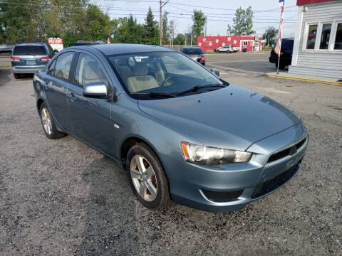 2009 Mitsubishi Lancer for sale at Peter Kay Auto Sales in Alden NY