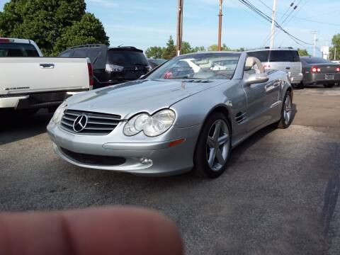 2004 Mercedes-Benz SL-Class for sale at Peter Kay Auto Sales in Alden NY