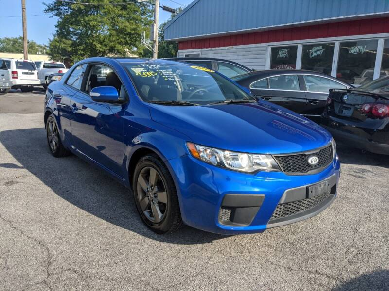 2010 Kia Forte Koup for sale at Peter Kay Auto Sales in Alden NY