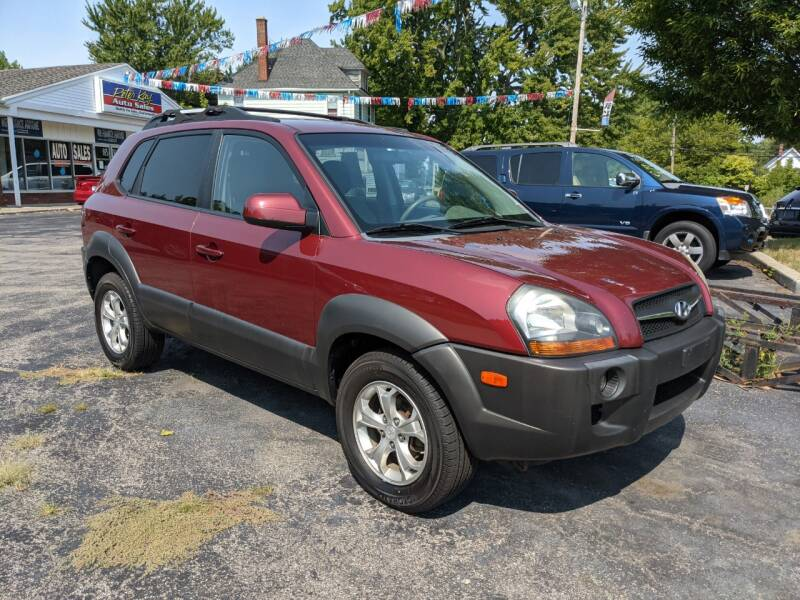 2009 Hyundai Tucson for sale at Peter Kay Auto Sales in Alden NY