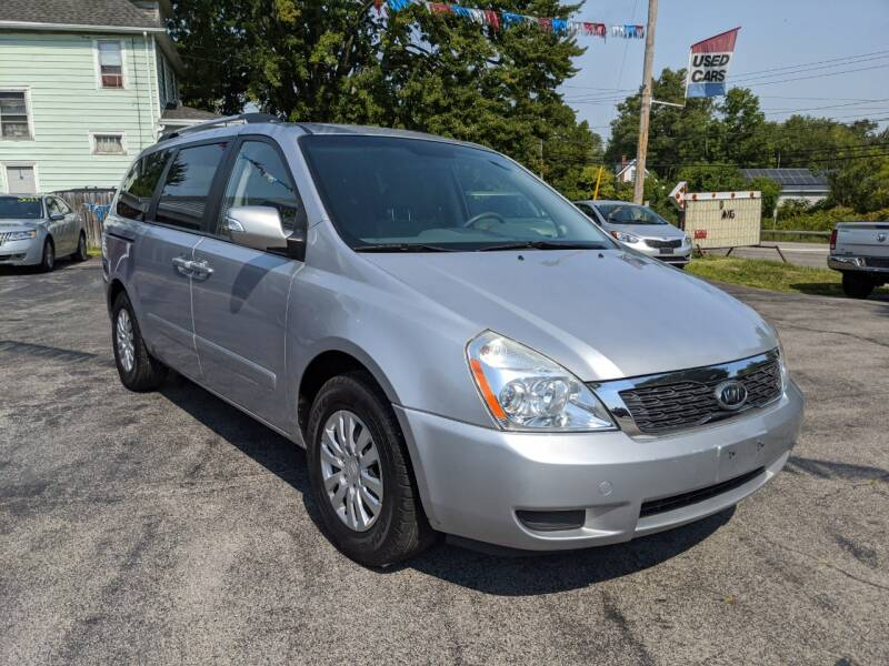 2011 Kia Sedona for sale at Peter Kay Auto Sales in Alden NY