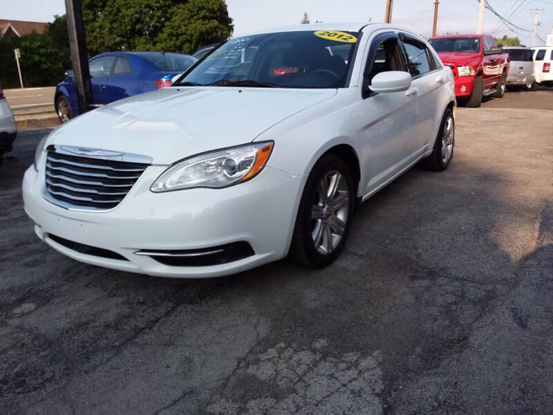 2012 Chrysler 200 for sale at Peter Kay Auto Sales in Alden NY