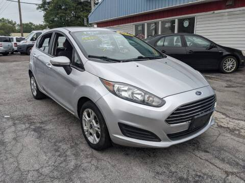 2016 Ford Fiesta for sale at Peter Kay Auto Sales in Alden NY