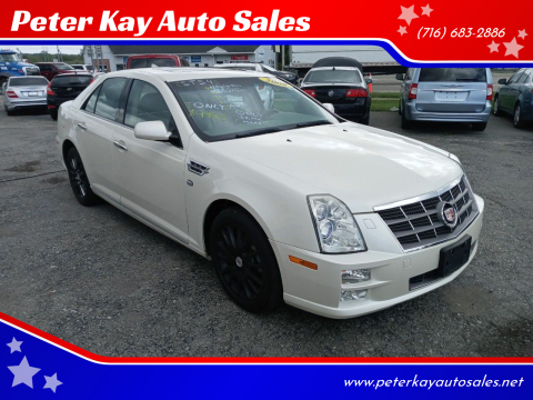 2009 Cadillac STS for sale at Peter Kay Auto Sales in Alden NY