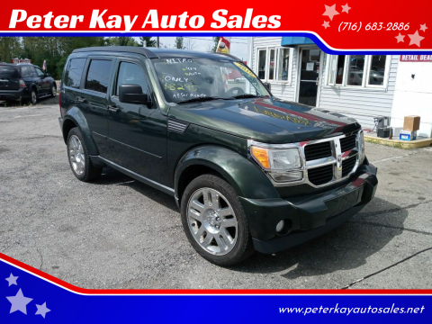 2010 Dodge Nitro for sale at Peter Kay Auto Sales in Alden NY