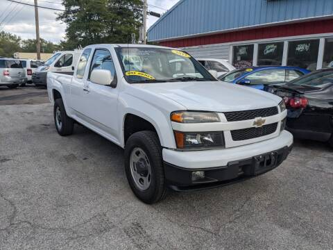 2011 Chevrolet Colorado for sale at Peter Kay Auto Sales in Alden NY