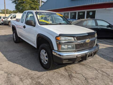 2007 Chevrolet Colorado for sale at Peter Kay Auto Sales in Alden NY