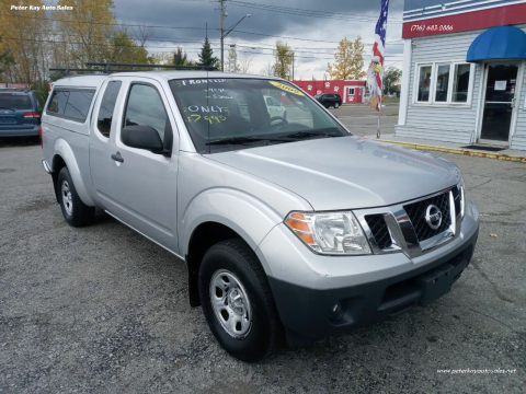2009 Nissan Frontier for sale at Peter Kay Auto Sales in Alden NY