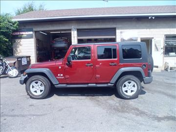 2008 Jeep Wrangler Unlimited for sale in Bridgeport, CT