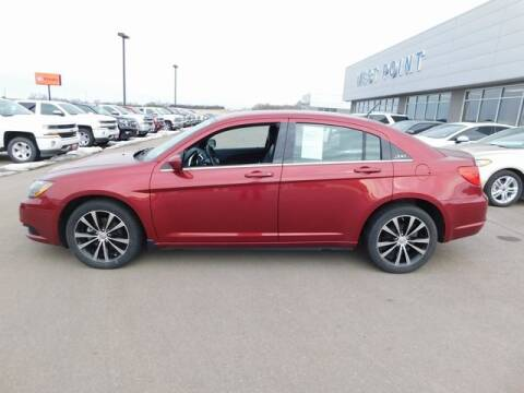 2012 Chrysler 200 for sale at West Point Auto & Truck Center Inc. in West Point NE
