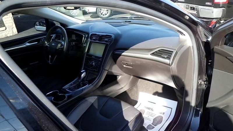 2015 ford fusion titanium 4dr sedan in aurora il - aurora auto
