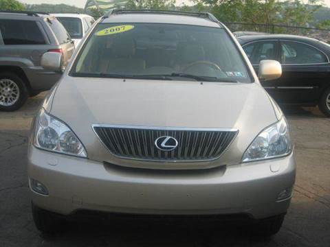 2007 Lexus RX 350 for sale at B. Fields Motors, INC in Pittsburgh PA