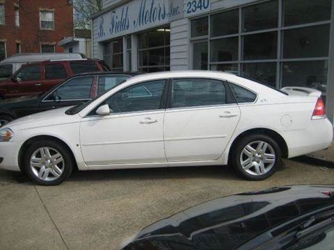2006 Chevrolet Impala for sale at B. Fields Motors, INC in Pittsburgh PA
