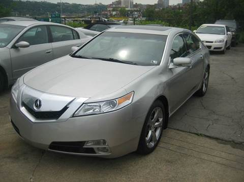 2010 Acura TL for sale at B. Fields Motors, INC in Pittsburgh PA