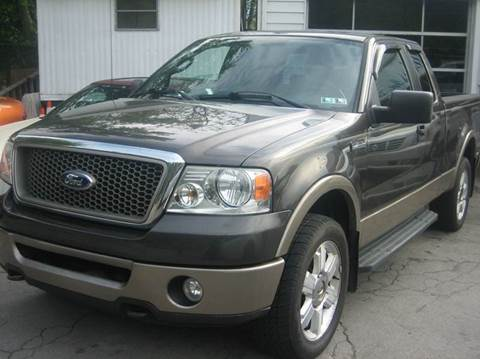 2006 Ford F-150 for sale at B. Fields Motors, INC in Pittsburgh PA