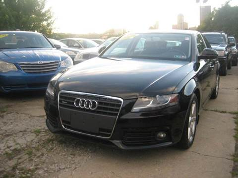 2009 Audi A4 for sale at B. Fields Motors, INC in Pittsburgh PA