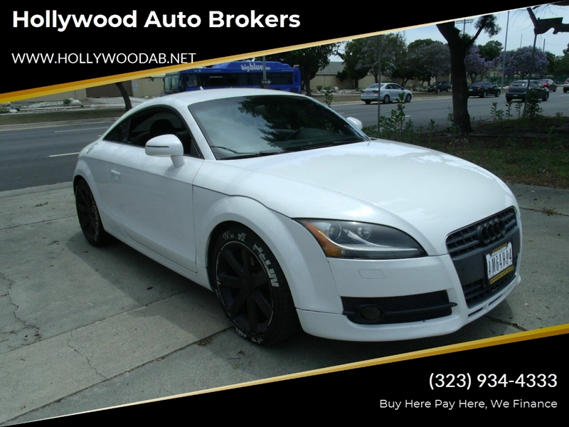 Audi Los Angeles >> 2008 Audi Tt 2 0t 2dr Coupe In Los Angeles Ca Hollywood Auto Brokers