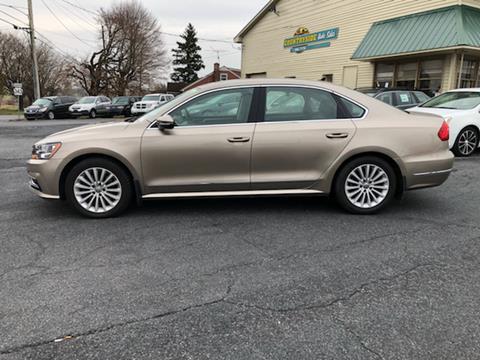 2016 Volkswagen Passat for sale in Fredericksburg, PA