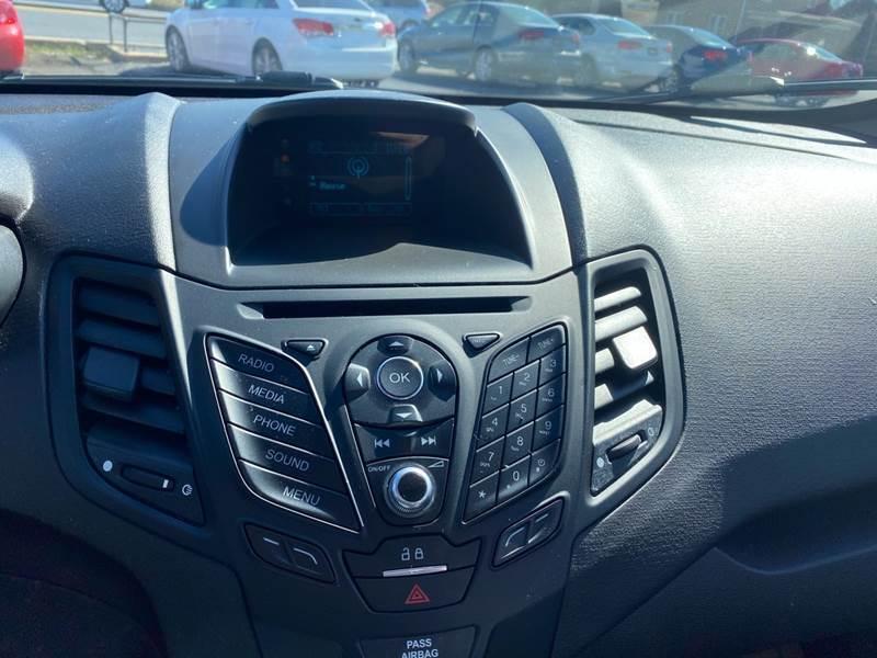 2017 Ford Fiesta S 4dr Sedan - Fredericksburg PA