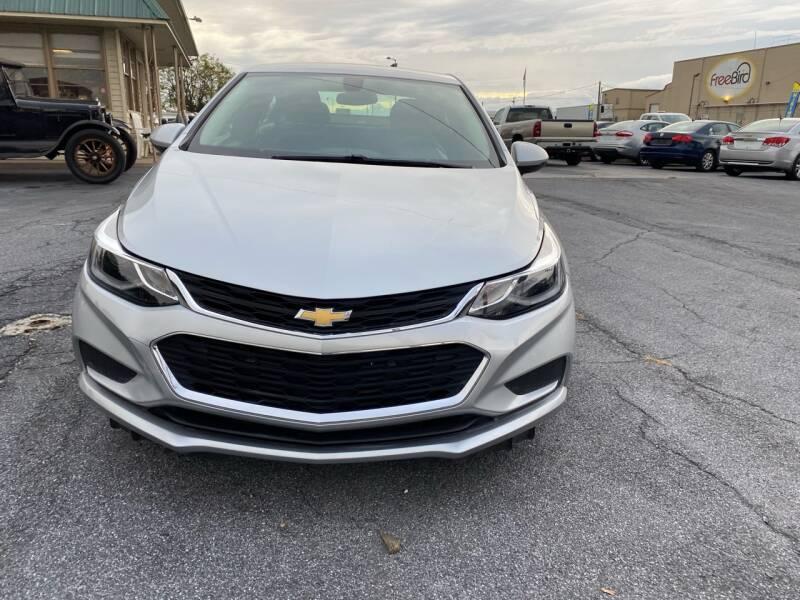 2018 Chevrolet Cruze LT Auto 4dr Sedan - Fredericksburg PA