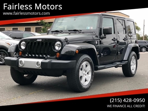 2012 Jeep Wrangler Unlimited for sale in Fairless Hills, PA