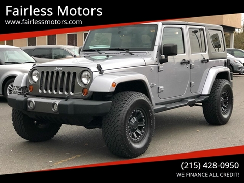2013 Jeep Wrangler Unlimited for sale in Fairless Hills, PA