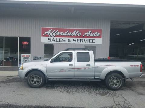 2003 Nissan Frontier for sale at Affordable Auto Sales & Service in Berkeley Springs WV