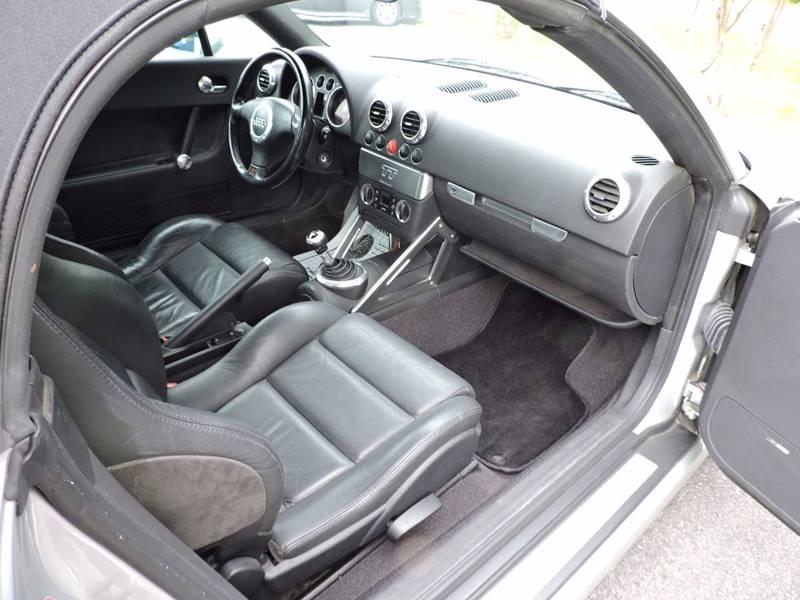 2001 Audi TT 180hp 2dr Roadster - Monroe NC