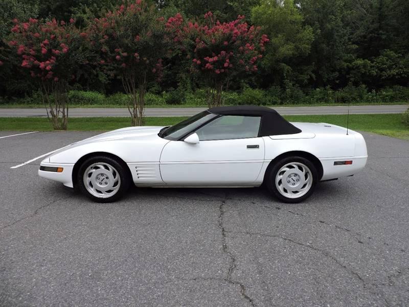 1991 Chevrolet Corvette 2dr Convertible - Monroe NC