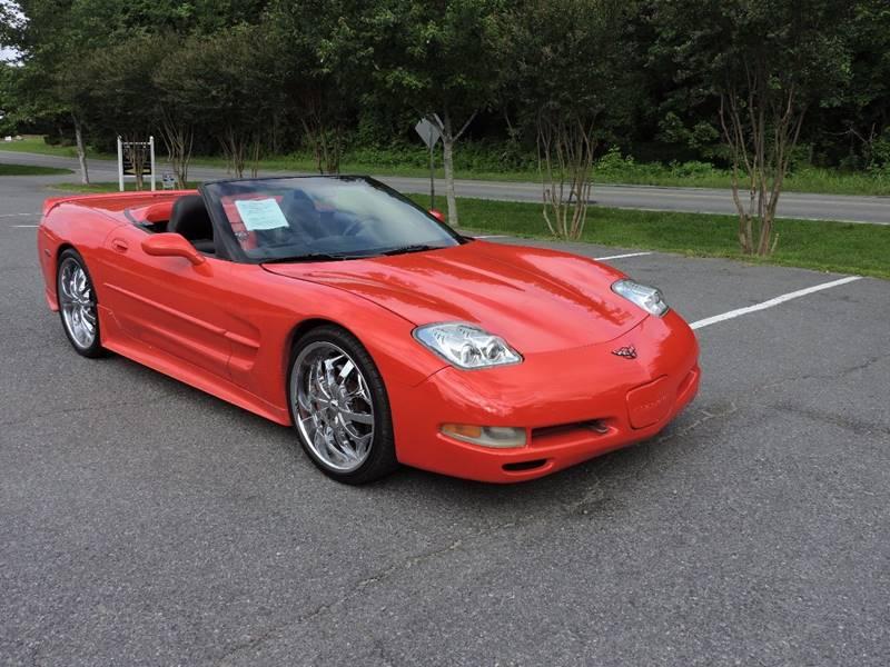 1998 Chevrolet Corvette 2dr Convertible - Monroe NC