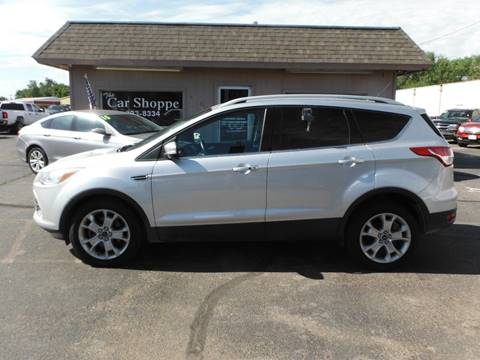 2014 ford escape for sale in salina ks. Black Bedroom Furniture Sets. Home Design Ideas