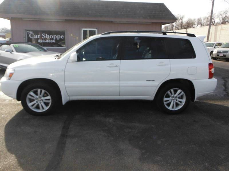 2007 Toyota Highlander Hybrid For Sale At The Car Shoppe In Salina KS