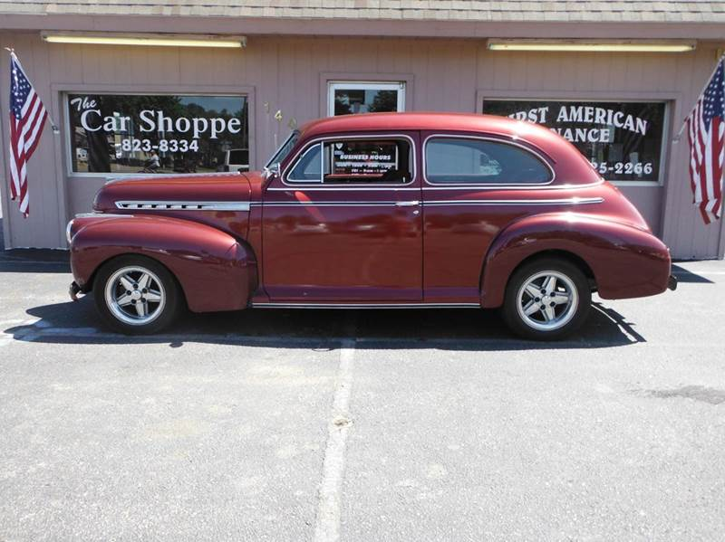 1941 chevrolet street rod in salina ks the car shoppe. Black Bedroom Furniture Sets. Home Design Ideas