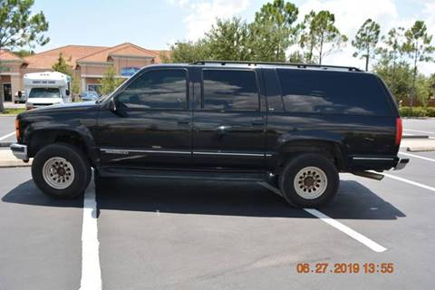 1999 GMC Suburban for sale in Lehigh Acres, FL