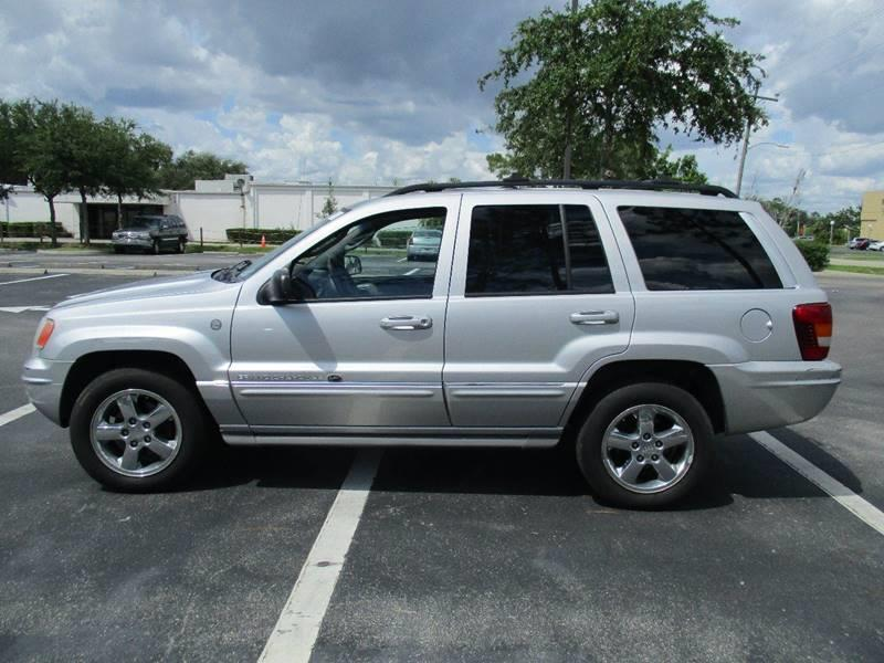 2004 Jeep Grand Cherokee Overland 4WD 4dr SUV In Lehigh