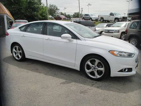 2015 Ford Fusion for sale at Henderson Auto Sales in Poplar Bluff MO