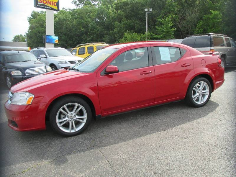 2012 Dodge Avenger for sale at Henderson Auto Sales in Poplar Bluff MO