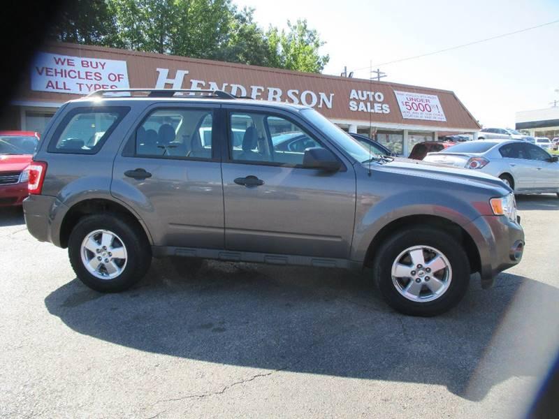 2011 Ford Escape for sale at Henderson Auto Sales in Poplar Bluff MO