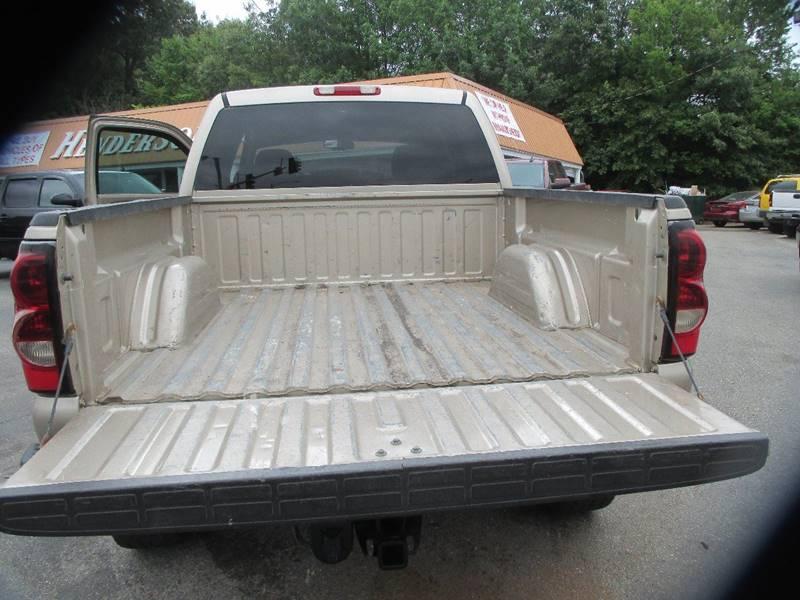 2004 Chevrolet Silverado 1500 for sale at Henderson Auto Sales in Poplar Bluff MO