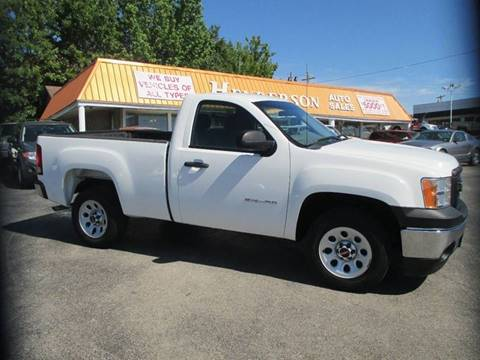 2010 GMC Sierra 1500 for sale at Henderson Auto Sales in Poplar Bluff MO