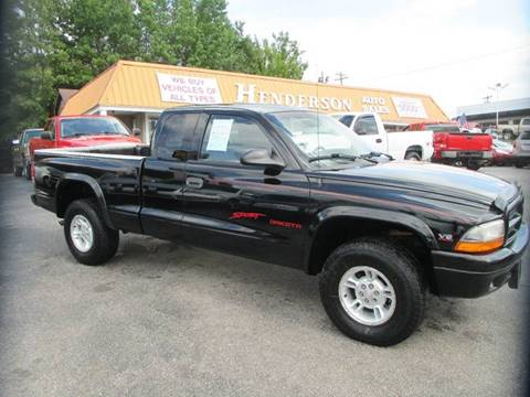 1999 Dodge Dakota for sale at Henderson Auto Sales in Poplar Bluff MO