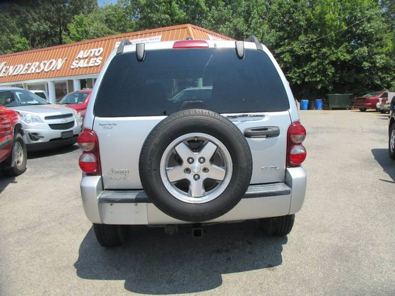 2005 Jeep Liberty for sale at Henderson Auto Sales in Poplar Bluff MO