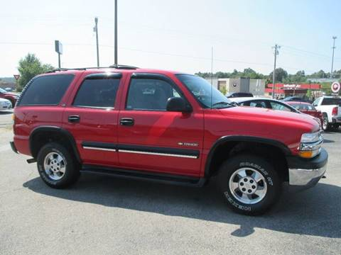 2001 Chevrolet Tahoe for sale at Henderson Auto Sales in Poplar Bluff MO