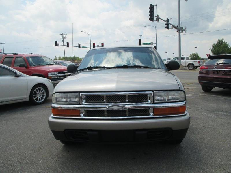 2003 Chevrolet S-10 for sale at Henderson Auto Sales in Poplar Bluff MO