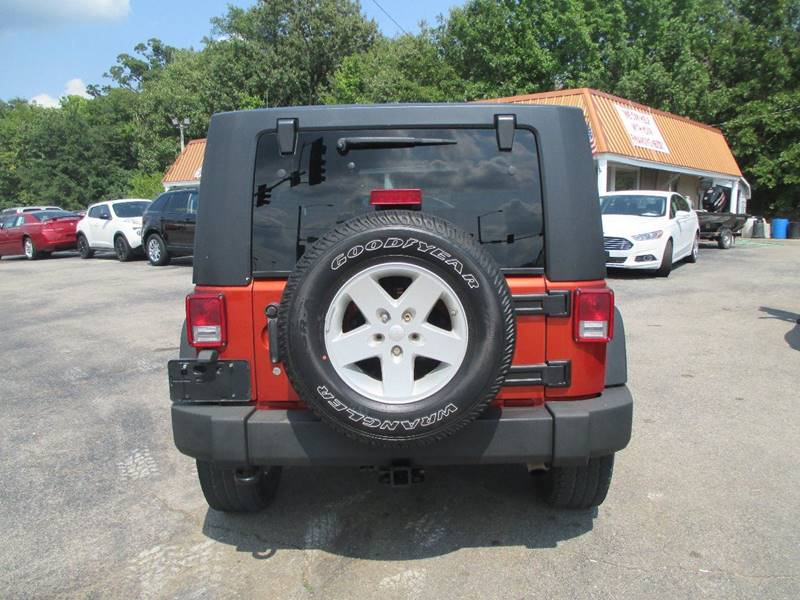 2009 Jeep Wrangler Unlimited for sale at Henderson Auto Sales in Poplar Bluff MO