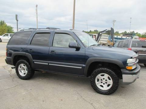 2006 Chevrolet Tahoe for sale at Henderson Auto Sales in Poplar Bluff MO