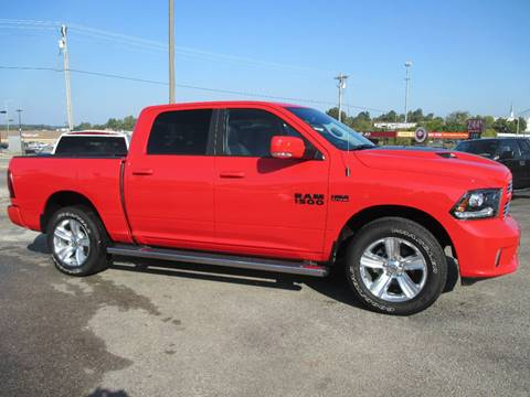2016 RAM Ram Pickup 1500 for sale at Henderson Auto Sales in Poplar Bluff MO