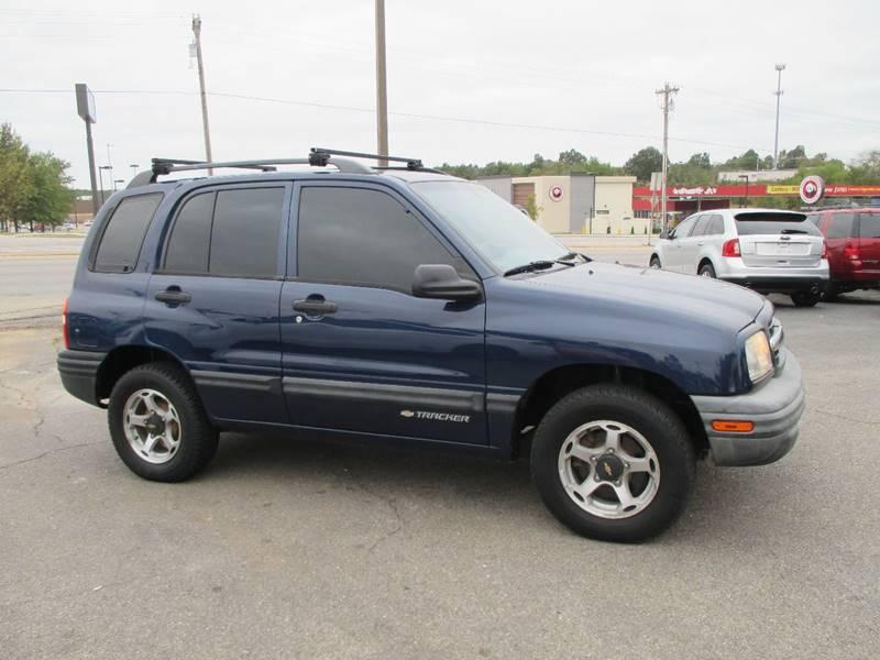 2000 Chevrolet Tracker for sale at Henderson Auto Sales in Poplar Bluff MO